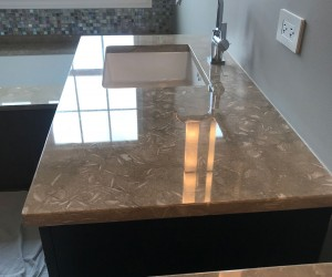 After - Remove Scratches and stains from marble