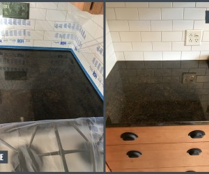 Granite countertops restoration