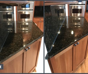 Granite kitchen restoration