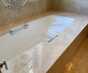 Jacuzzi top restoration in Downtown Chicago